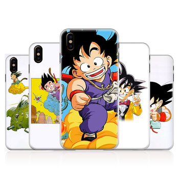 Dragon Ball Goku Krillin Bulma Coque Telefon Kılıfı Kabuk Için Apple iPhone 5 5 S SE 6 6 s 7 8 Artı X