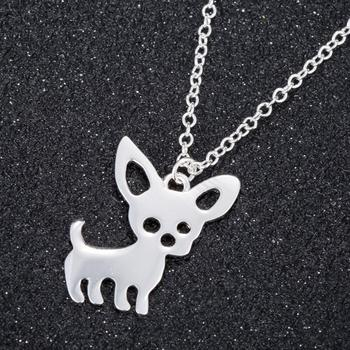 Oly2u Pet Memorial Jewelry Always in my Heart Dog chiwawa Pet Lover Pendant Necklace Animal Keepsake Charms