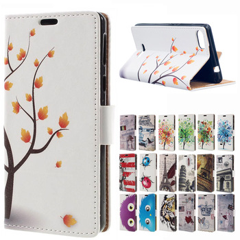 "MSK Color of the tree Magnetic Wallet Style Leather Stand Cover For Flip coque Wiko Fever Special Edition 5.2"" case funda capa"