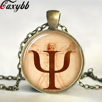 Personality body balance necklace glass Cabochon bronze pendant gothic vintage Art picture necklaces Choker jewelry gift CN393