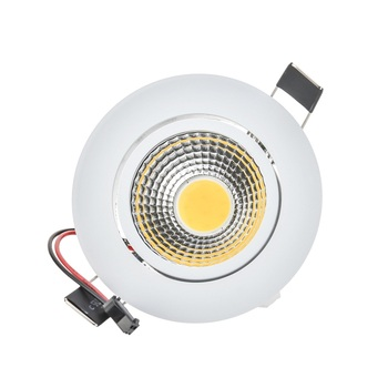 Dim LED Downlight 3 W 6 W 9 W Spot LED DownLight Dim 220 V LED Spot Gömme Downlight Beyaz evi