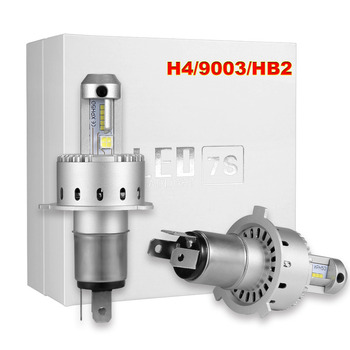 Araba Far Ampul H7 H4 LED HB2 9003 H1 H3 9005 9006 9012 H16 H8 H11 LED Far 50 W 9003 HB2 H4 LED Araba farlar