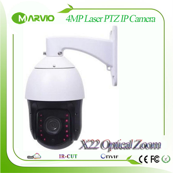 4MP 4.0Megapixels 1080P 2MP FULL HD IP PTZ Network Camera X22 optical zoom150m Laser IR Night Vision Distance POE Outdoor IP66